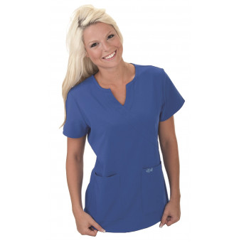 SCR511 Excel Accuflex 4-Way Stretch Scrubs Top Style 511