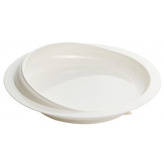 SLHA4249 Scoop Dish (White)