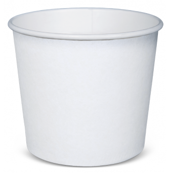 Vomit Bowls White Paperboard PE Lined 710mls - sleeve of 50