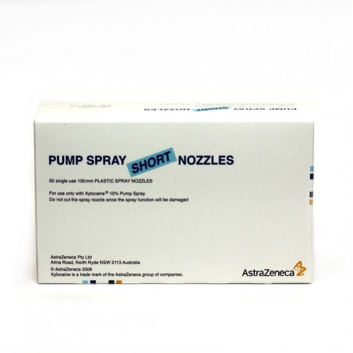 284793 Xylocaine Pump Spray Nozzle Short (Indent)