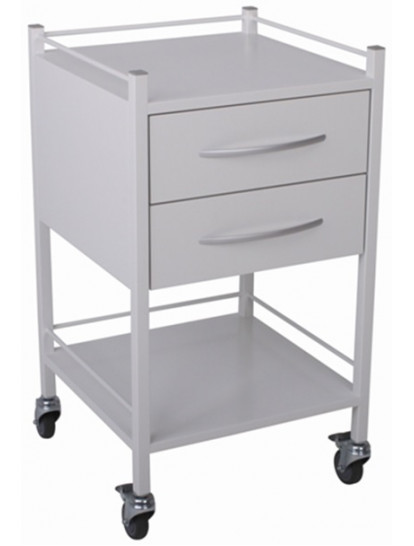 3662 Milano Dressing Trolley 2 drawers