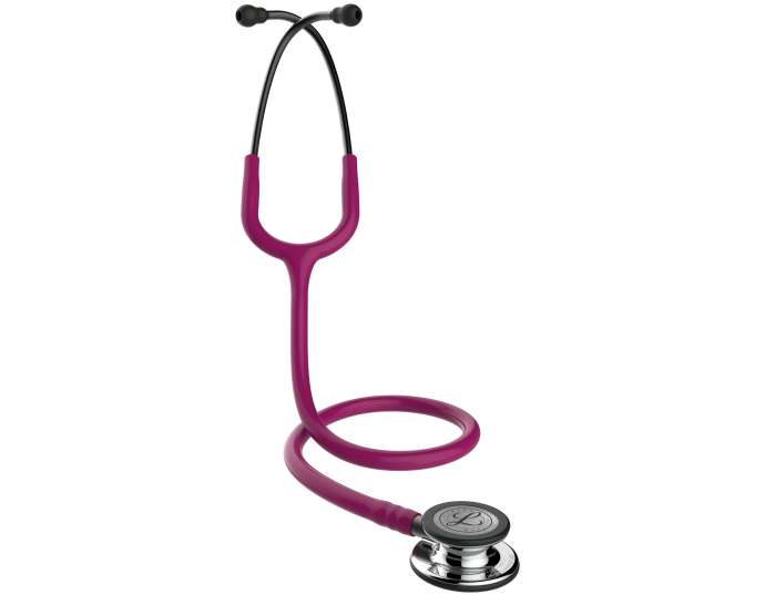 5862 3M Stethoscope Littmann Classic III Raspberry with Champagne Finish