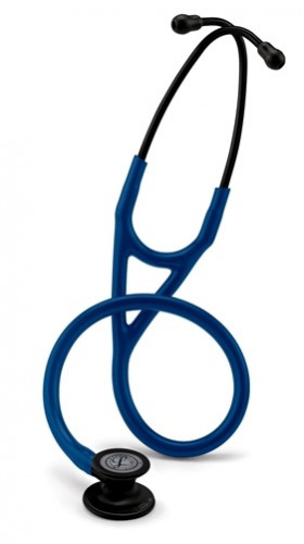 6168 3M Stethoscope Littmann Cardiology IV Navy Blue with Black Finish 1