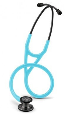 6171 3M Stethoscope Littmann Cardiology IV Turquoise with Smoke Finish