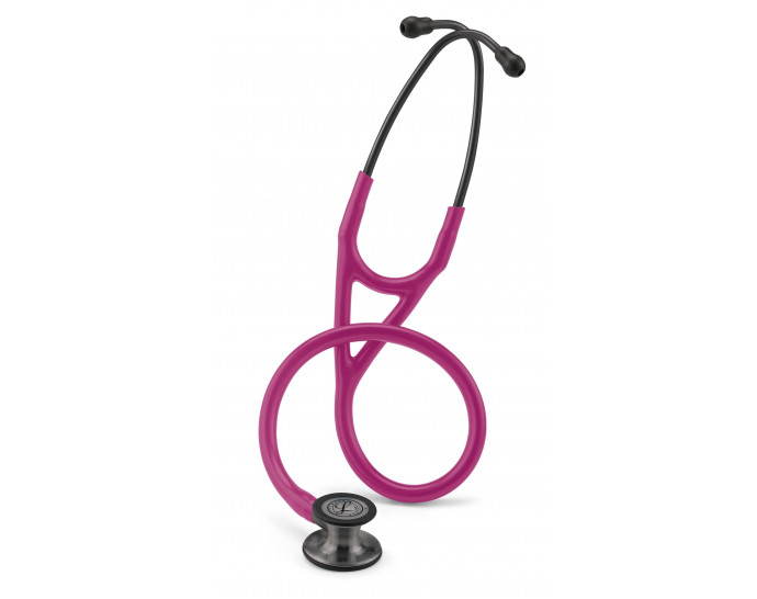 6178 3M Stethoscope Littmann Cardiology IV Raspberry with Smoke Finish