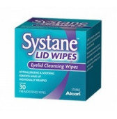 2465493 Systane Lid Wipe Sachets 30