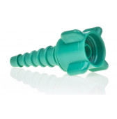 2555 Hudson Adaptor Nipple & Nut for Oxygen Outlet