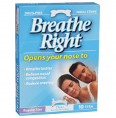 388076 Breath Right Strips Regular 10