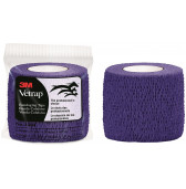 3M Vetrap Bandage Tape Purple 50mm x 4.5m