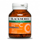 432628 Blackmores Vitamin C Tabs 500mg pkt130