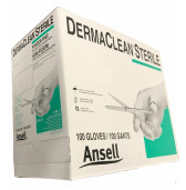 4480 Ansell Single glove Sterile Box