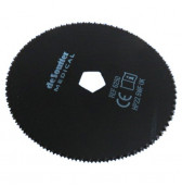 6250 Desoutter Replacement Cast Saw Blade 64mm PFTE Coated
