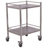 661 Nordic Dressing trolley No Drawer 500L x 500W x 1015H