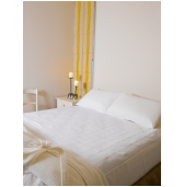 Brolly Sheet Queen Size 155 x 95cm White