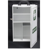 CABWL First Aid Cabinet - EMPTY Metal Cabinet White 450x280x150mm