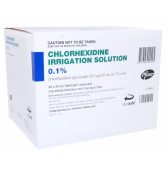 Chlorhexidine Irrigation 0.1% 30ml Steritube