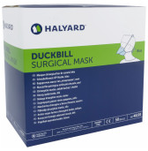 Halyard Mask Surgical Duckbill Blue