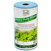 HDW85B Reynard Heavy Duty Wipes (Blue) 53cm x 30cm 85 wipes roll