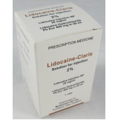 Lidocaine 2% -Claris Hyd Vial 5 x 20ml