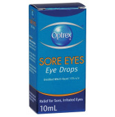 Optrex Eye Drops Sore Eyes 10ml