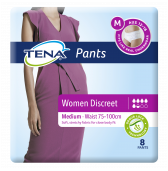 Pack TENA 796210 Pants Womens Discreet Medium 8 New