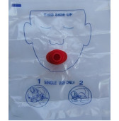 resfaceshld - Mask Resuscitation Face Shield disposable
