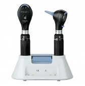 RI.3817-203.011 Riester Ri-scope set  L2 LED Otoscope & Ophthalmoscope 3.7V with Charger Pod
