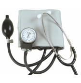 SSAWS AlpK2 Two Hand Aneroid Sphygmomanometer with Stethoscope