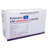 Xylocaine 1% Adrenaline 1 in 200000 Ampoules 5 x 20ml