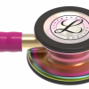 5806-04 3M Stethoscope Littmann Classic III Raspberry with Rainbow Finish