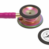 5806-05 3M Stethoscope Littmann Classic III Raspberry with Rainbow Finish