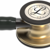 6164-04 3M Stethoscope Littmann Cardiology IV Black with Brass Finish