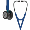 6202 3M Stethoscope Littmann Cardiology IV Navy with Blue Stem and Smoked Finish