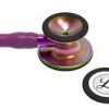 6205 3M Stethoscope Littmann Cardiology IV Plum with Violet Stem and Rainbow Finish