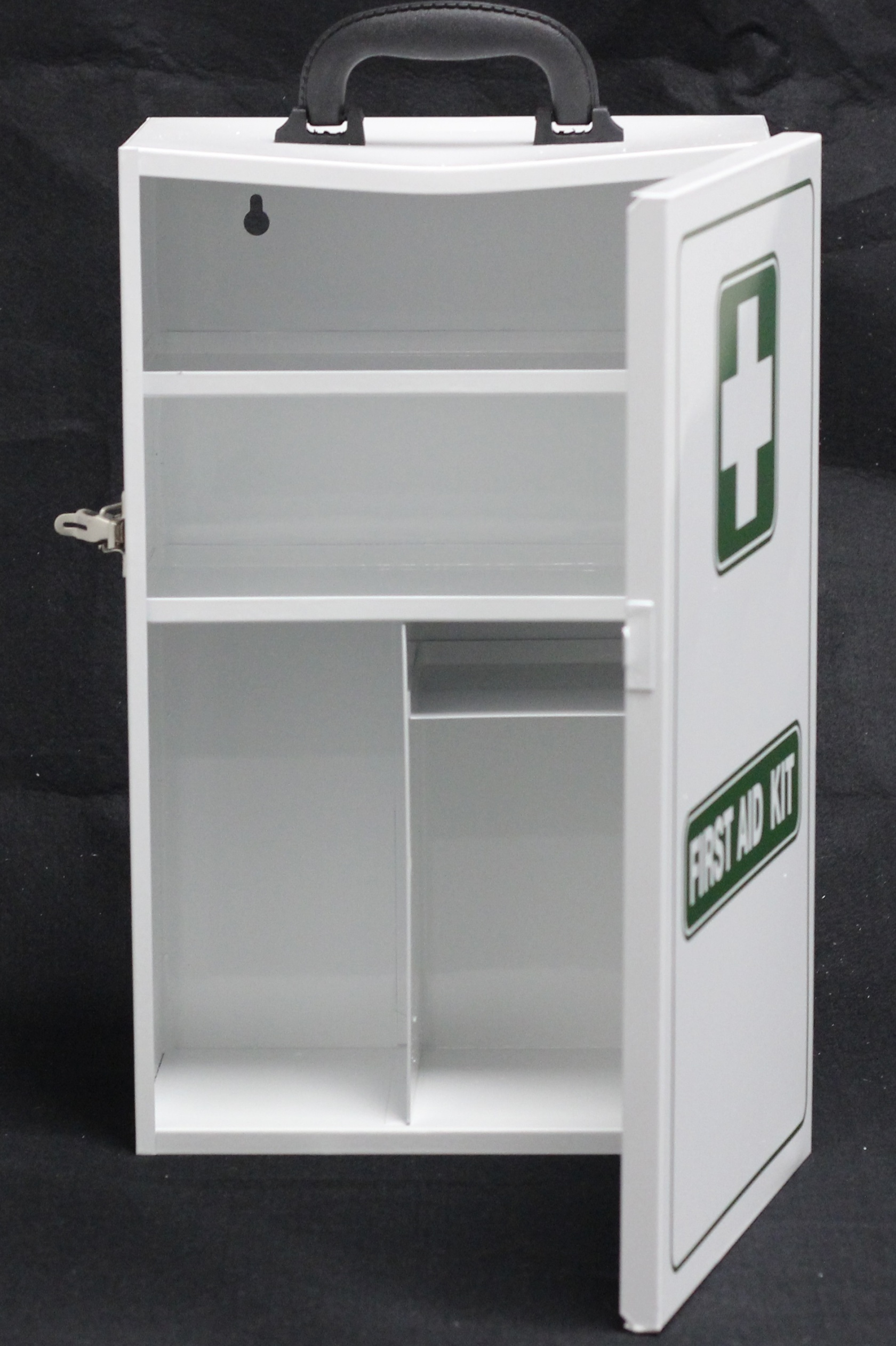 First Aid Cabinet - EMPTY Metal Cabinet White 450x280x150mm