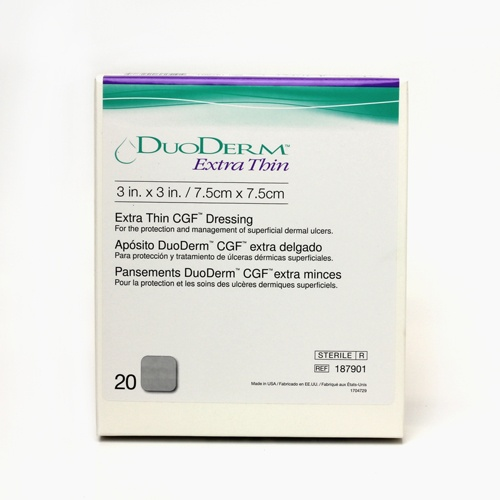 how to use duoderm extra thin