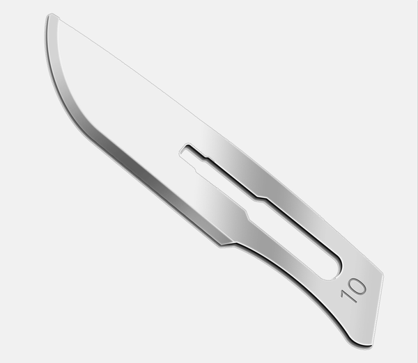 how to put a blade on a scalpel